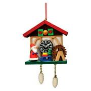 Christian Ulbricht Cuckoo Clock Santa Ornament