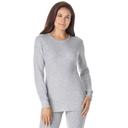 Comfort Choice - Plus Size Thermal Long Sleeve Tee By Comfort Choice -  Walmart.com 6cbfa04e4