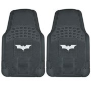 Warner Brothers  Batman Rubber Floor Mats 2-Piece Dark Night Officially Licensed Products