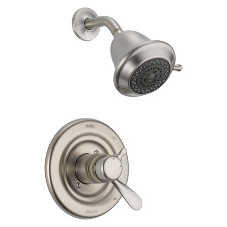(Delta Classic Dual Function Pressure Balanced Shower Trim with Integrated Shower Trim Less Rough-in, Available in Various Colors)