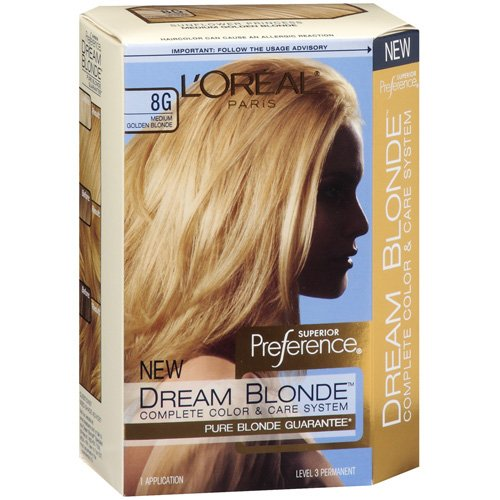 loreal paris superior preference dream blonde complete