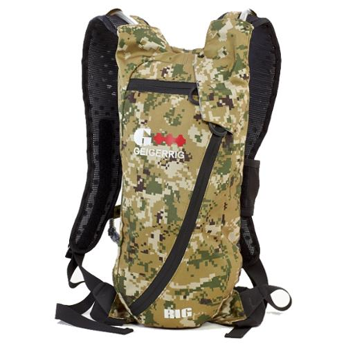 Geigerrig The Rig Digital Camouflage G3 Pressurized Hydration Pack Backpack