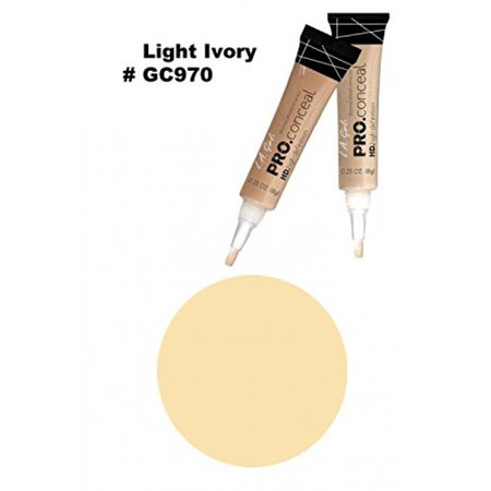 La Senza Girl - LA Girl Pro High Definition Concealer (1, GC 970 Light Ivory)
