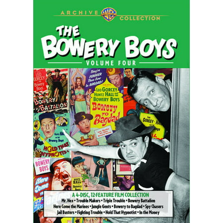 The Bowery Boys: Volume Four (DVD) (Halloween Laurie Strode)