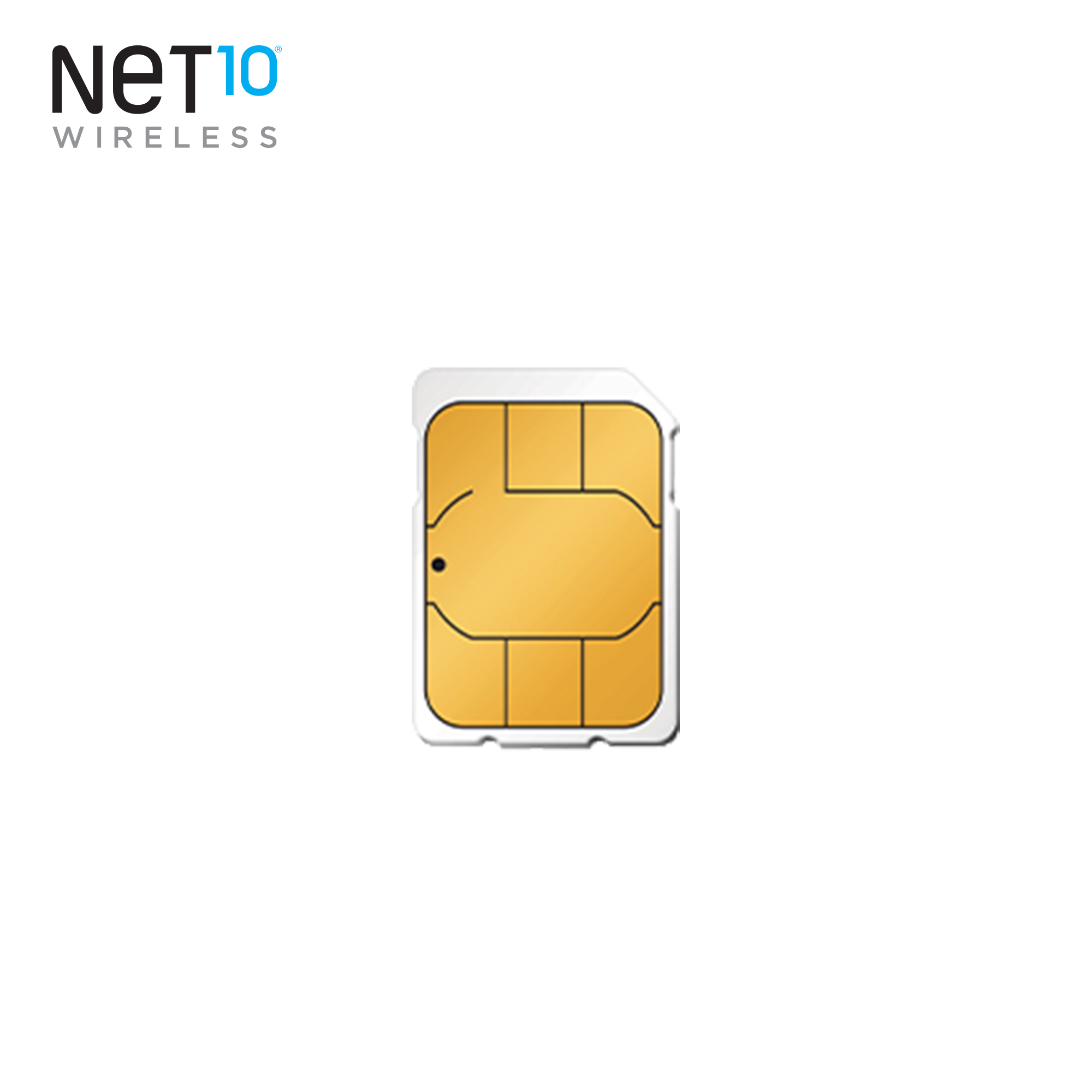 Net10 AT&T Compatible Nano SIM Activation Kit