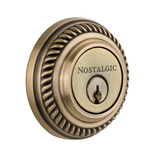 Nostalgic Warehouse Victorian Single Cylinder Keyed Alike Deadbolt