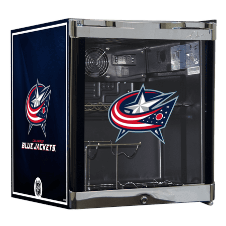 NHL Wine Cooler 1.8 cu ft Columbus Blue Jackets by