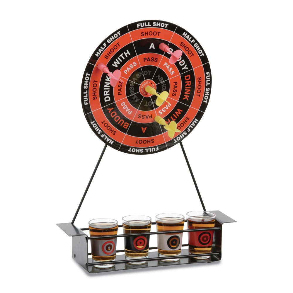Magnetic Darts Drinking Game by BNF