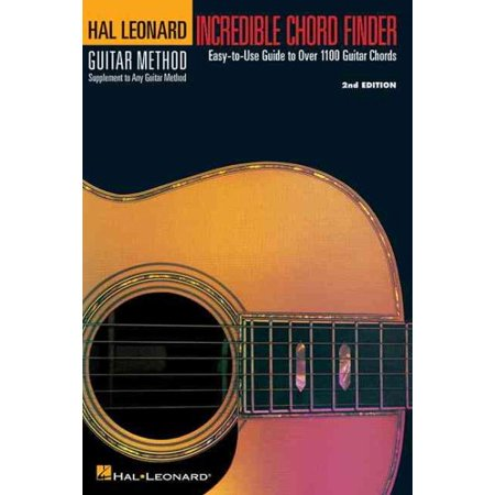 Incredible Chord Finder - 6 Inch. X 9 Inch. Edition : Hal Leonard Guitar Method Supplement