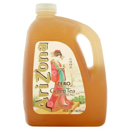 Arizona Green Tea With Ginseng  128 Fl Oz