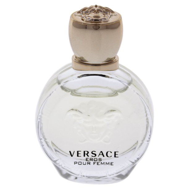 ($20 Value) Versace Eros Pour Femme Eau De Parfum, Perfume for Women, 0.17 Oz
