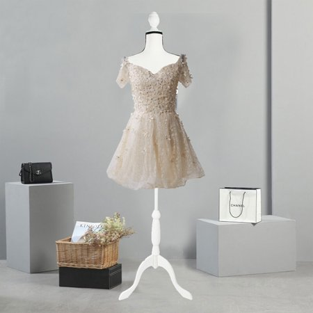 5d344dae0 Ktaxon Foam Female Mannequin Torso Clothing Dress Form Display Sewing  Mannequin W  Tripod Stand - Walmart.com