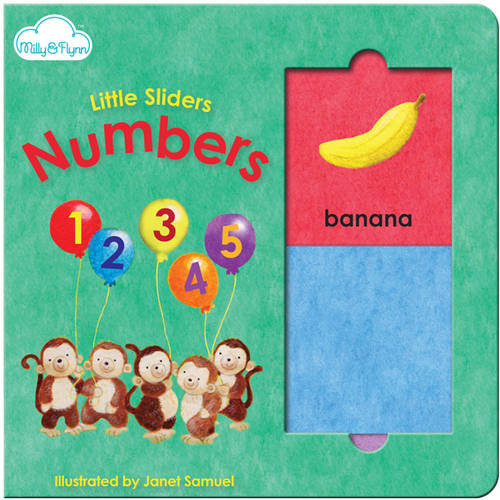 Little Sliders Book, Numbers