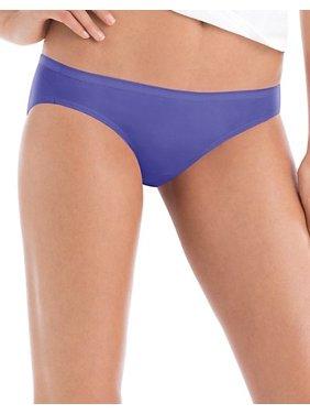 Hanes Women's Cotton Bikini Panties, 6-Pack