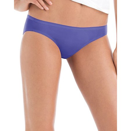 Hanes Women's Core Cotton Bikini Underwear Panties 6pk - Colors and Pattern May Vary 5