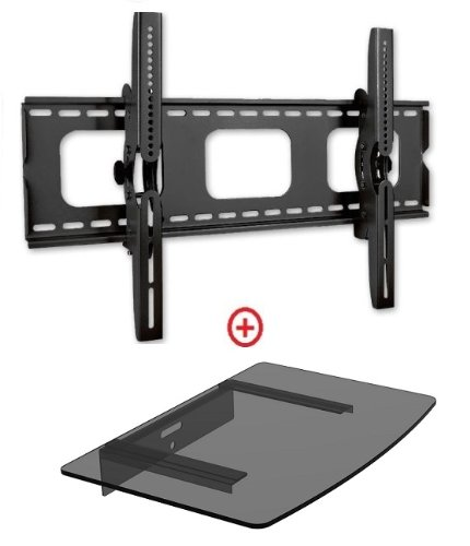 Mount World 982T43-1 Universal Tilt Wall Mount for 32'- 6...