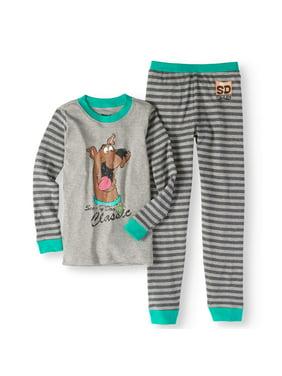Scooby Doo Boys' Vintage 2 Piece Pajama