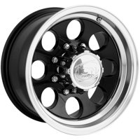 "Ion 171 16x8 8x6.5"" -5mm Black Wheel Rim 16"" Inch"