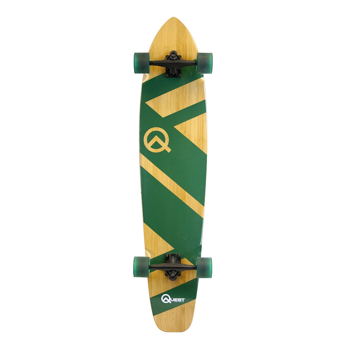 Click here to buy Quest Super Cruiser Artisan Longboard by Made in Mars Inc.
