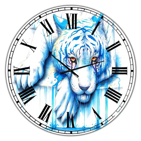 DesignArt Blue Tears Large Wall Clock - image 2 de 2