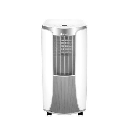 Gree 4-IN-1 400-SQ FT Portable Air Conditioner with Heat Pump (115 Volt,  9,000 BTU Cool, 12,000 BTU Heat) - GRP-EHP09SH-R4W