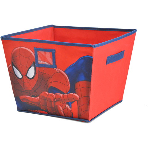 Marvel Spiderman Storage Bin, Red