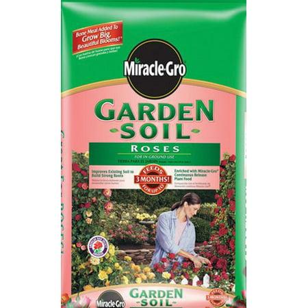 Miracle Gro Garden Soil For Roses