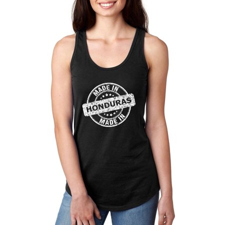 Made In What To Do In Honduras Caribbean Cruise Deals Travel Map Honduran Flag Womens Next Level Ladies Ideal Racerback Tank Clothes