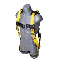 Guardian Fall Protection 11166 Xl-Xxl Seraph Universal Harness With Leg (Fall Arrest Harness)