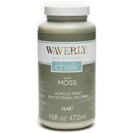 Waverly Inspirations Matte Chalk Finish Acrylic Paint, 16 ...