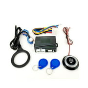 Car Engine Push Starts Button RFID Ignition Starter Keyless Engine Starts Stop System Push Button Starts Stop Button Remote Engine Starts SQ9002X
