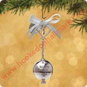 Hallmark Ornament 2002 Babys First Christmas