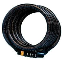 Master Lock Cable Lock 8143D Preset Combination, 4ft (1.2m) Long x 5/16in (8mm) Diameter