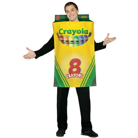 Costumes For All Occasions Gc4520 Crayola Crayon Box Adult - Crayon Costumes For Adults
