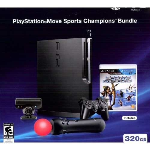 PlayStation 3 320GB Console w/ Sony Move