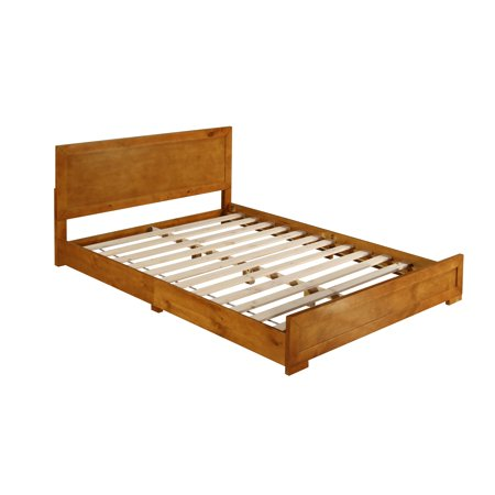 Camden Isle Oak Queen Bed