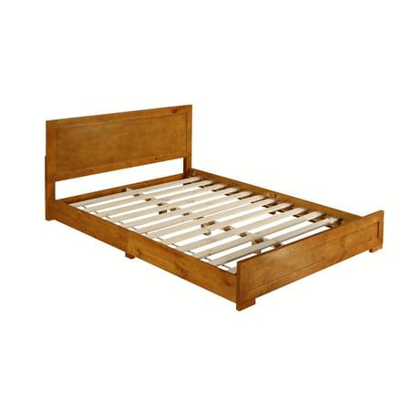 Camden Isle Oak Queen Bed