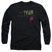 Fight Club - In Tyler We Trust - Long Sleeve Shirt - Large