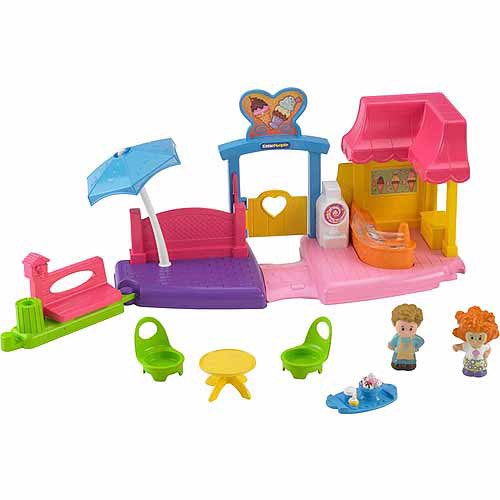 Fisher-Price Little People Ice Cream Shop Play Set