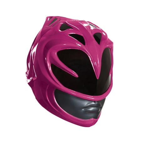 Power Rangers Pink Ranger Adult - Velveteen Show Helmet