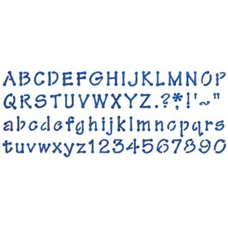 Stencil Magic Decorative Stencils-Whimiscal Dot Alphabet - Decorative Stencils