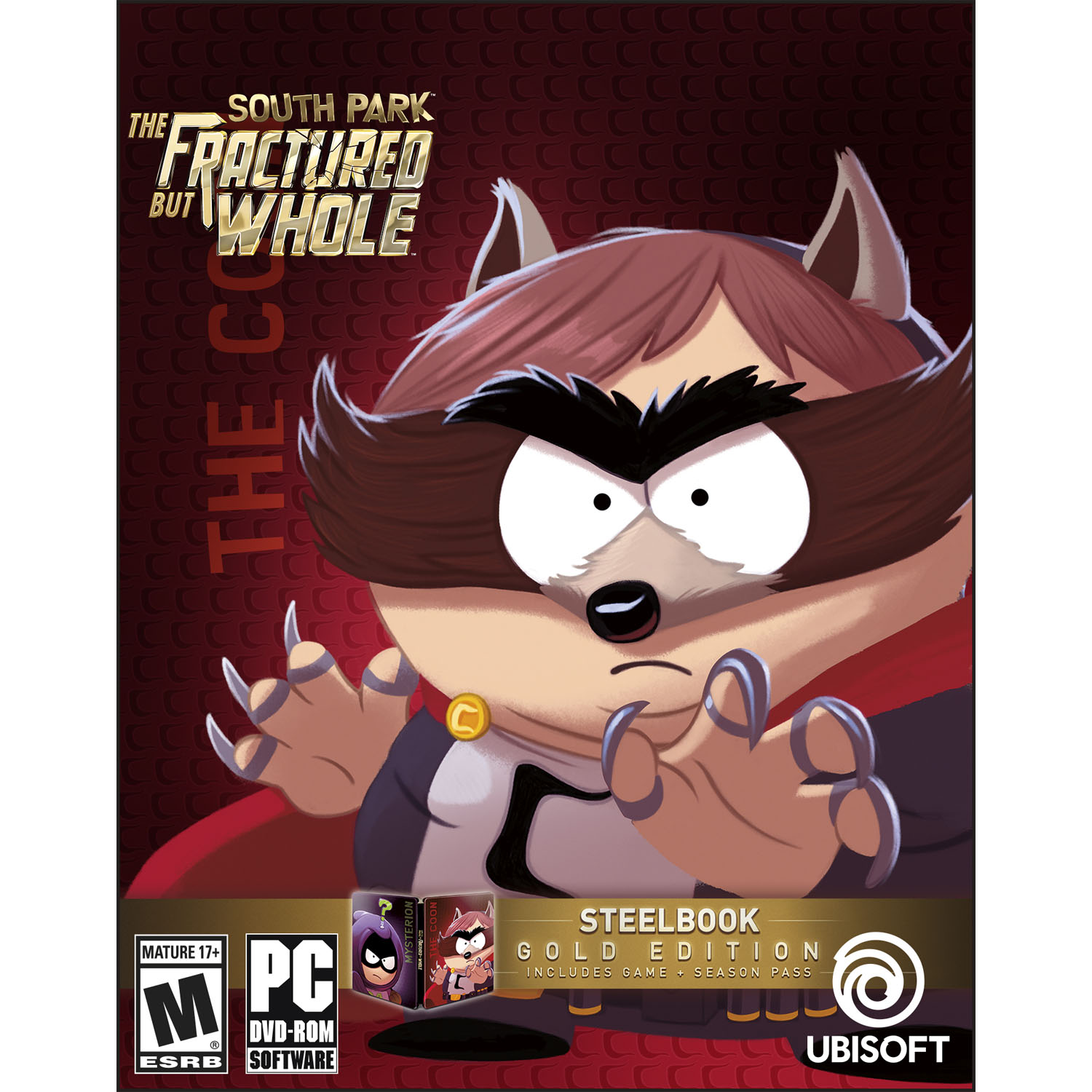 South Park: The Fractured But Whole Gold Edition, Ubisoft, PC, 887256022709