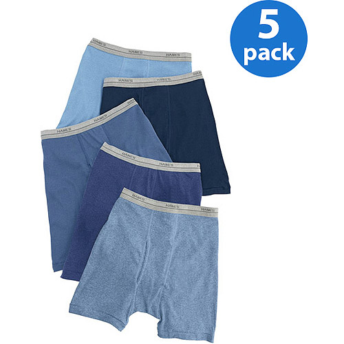 Hanes - Boys' Boxer Briefs, 5-Pack