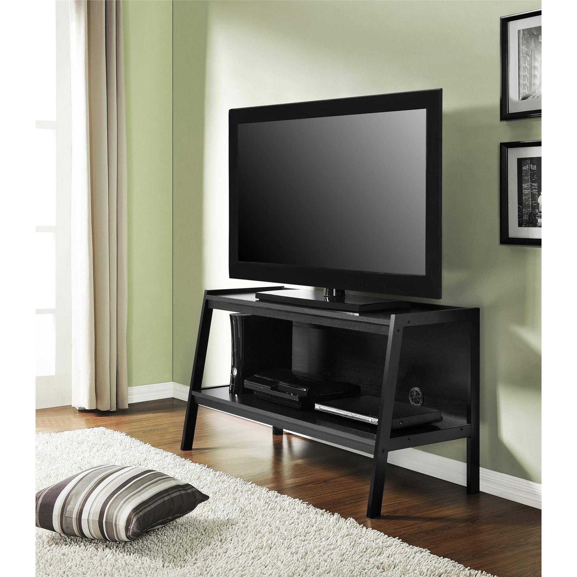 Altra Ladder Black TV Stand for TVs up to 46""