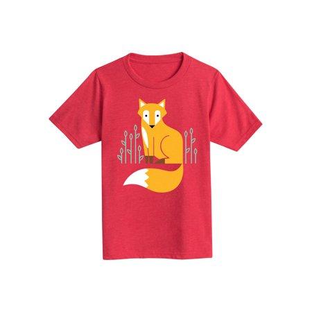 Fox Scene  - Youth Short Sleeve Tee