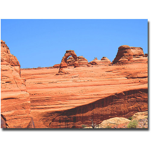"Trademark Fine Art ""Red Rock"" Canvas Wall Art by Ariane Moshayedi"