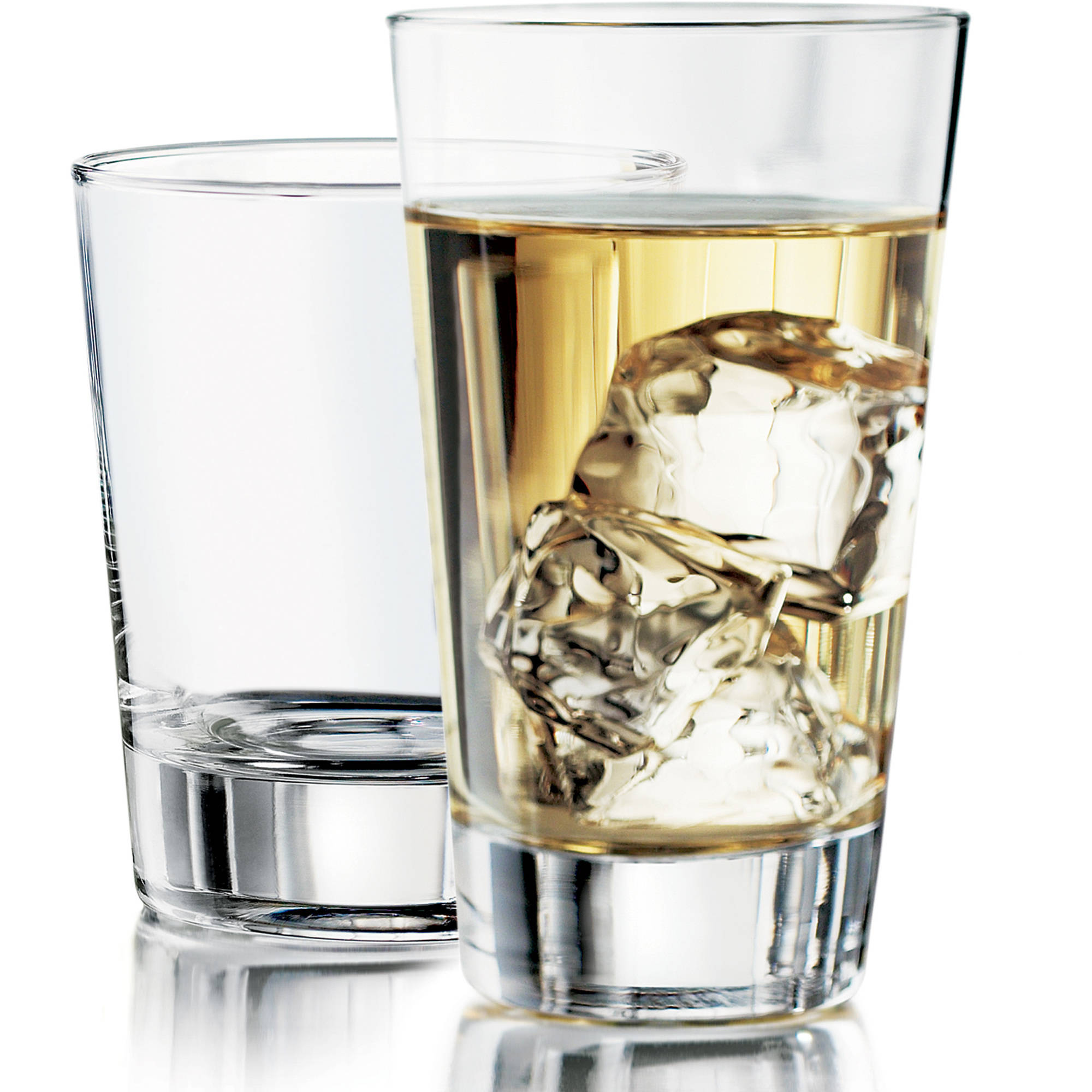 Libbey 16pc Geo Glasses Set