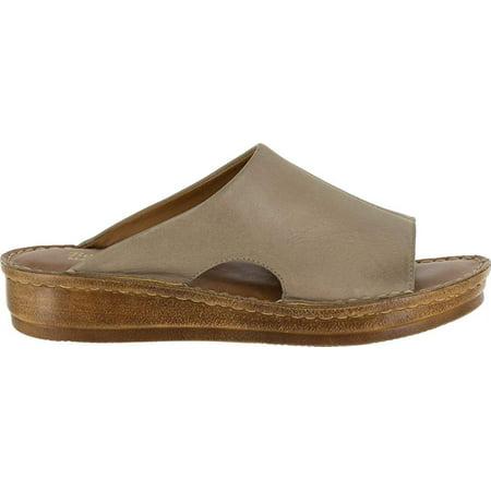 Bella Vita Mae-Italy Women Ww Open Toe Leather Tan - image 1 of 2