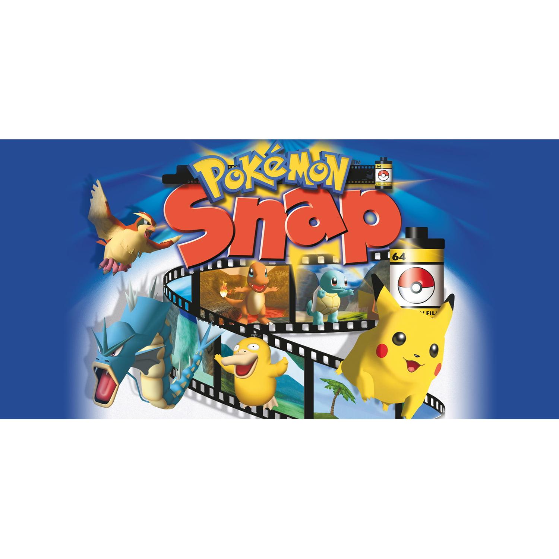 N64 Pokemon Snap, Nintendo, WIIU, [Digital Download], 0004549666189
