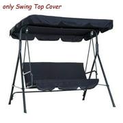 Outdoor Garden Patio Swing Sunshade Cover, Canopy Tent Seat Top Cover ,Beach Garden Gazebo Sun Shade UV Proof